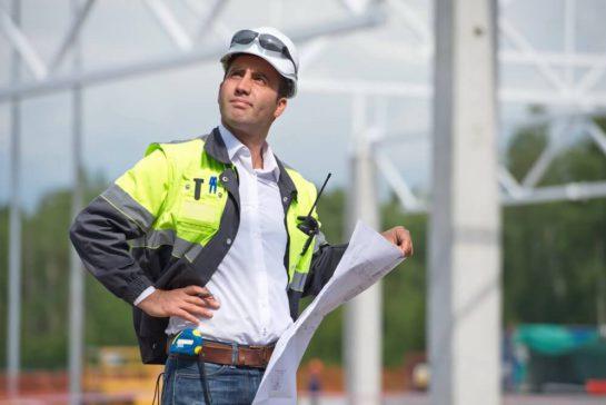 engenheiro de obras