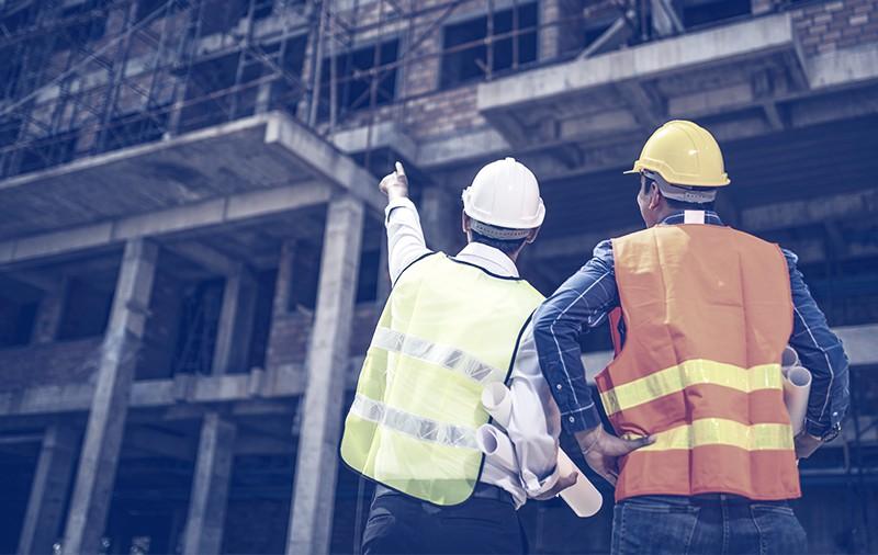 Panorama geral da construção civil